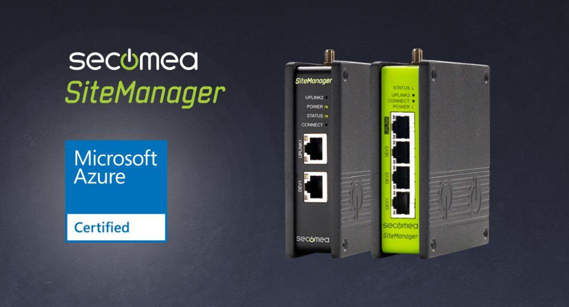 Secomea SiteManager IoT Edge Gateway